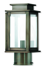 Livex Lighting 20201-29 - 1 Light VPW Outdoor Post Lantern