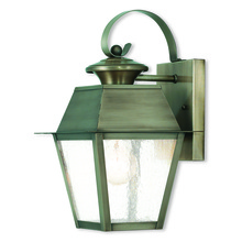 Livex Lighting 2162-29 - 1 Light VPW Outdoor Wall Lantern