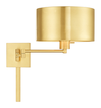 Livex Lighting 40034-12 - 1 Lt Satin Brass Swing Arm Wall Lamp