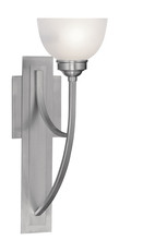 Livex Lighting 4230-91 - 1 Light Brushed Nickel Wall Sconce