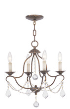 Livex Lighting 6424-71 - 4 Light VBR Mini Chandelier