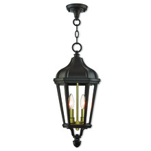Livex Lighting 76189-07 - 2 Lt BZ Outdoor Pendant Lantern