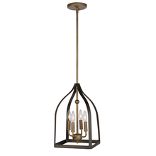 Artcraft AC11010 - Worthington AC11010 4 Light Chandelier