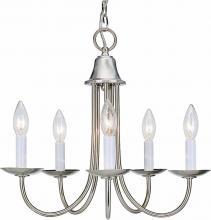 Volume Lighting V4425-33 - Rhodes 5-light Brushed Nickel Chandelier