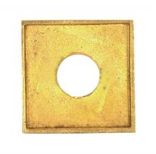 Satco Products Inc. 90/2139 - Turned Brass Check Ring 1/8 IP Slip Burnished and Lacquered 1/2""