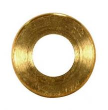 Satco Products Inc. 90/2147 - Turned Brass Check Ring 1/4 IP Slip Burnished and Lacquered 3/4