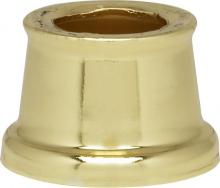 "Satco Products Inc. 90/2230 - Flanged Steel Necks 7/16"" Hole-9/16"" Height 11/16"" Top-7/8"" Bottom Brass Plared"