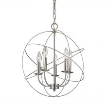 Thomas 1515CH/20 - Williamsport 5 Light Chandelier In Brushed Nicke