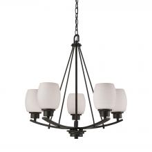 Thomas CN170521 - Casual Mission 5 Light Chandelier In Oil Rubbed