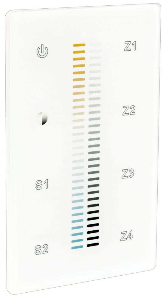 RF TUNABLE WHITE TOUCH CONTROL, 4 ZONES