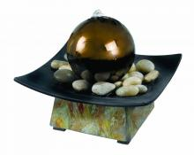 Kenroy Home 50235SL - Sphere Indoor Table Fountain