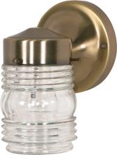 "Nuvo SF77/995 - 1 LIGHT 6"" MASON JAR LANTERN"